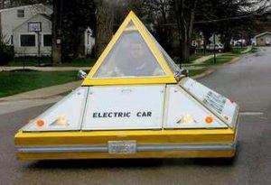 Pyramid Electric Car