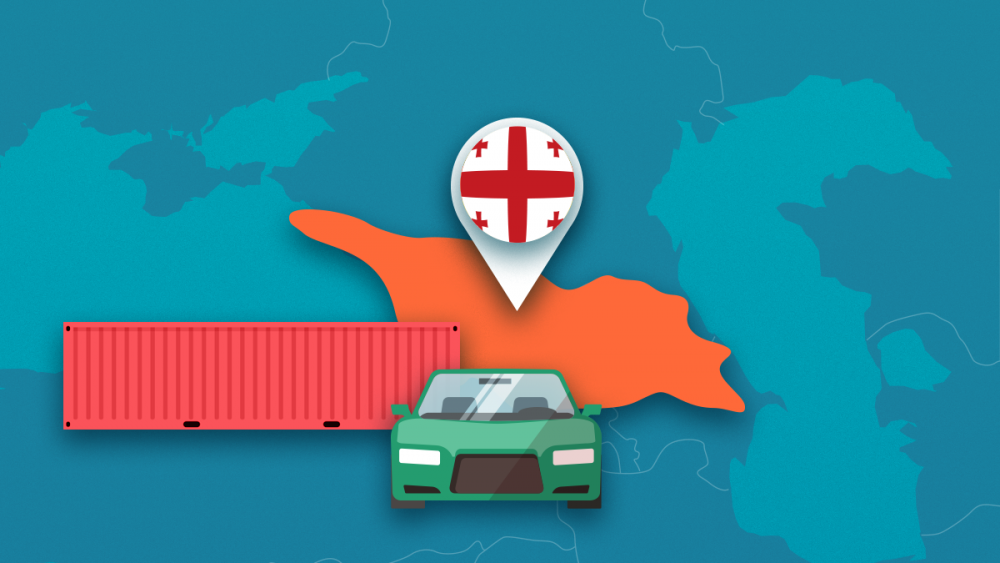 import a car from the USA to Georgia