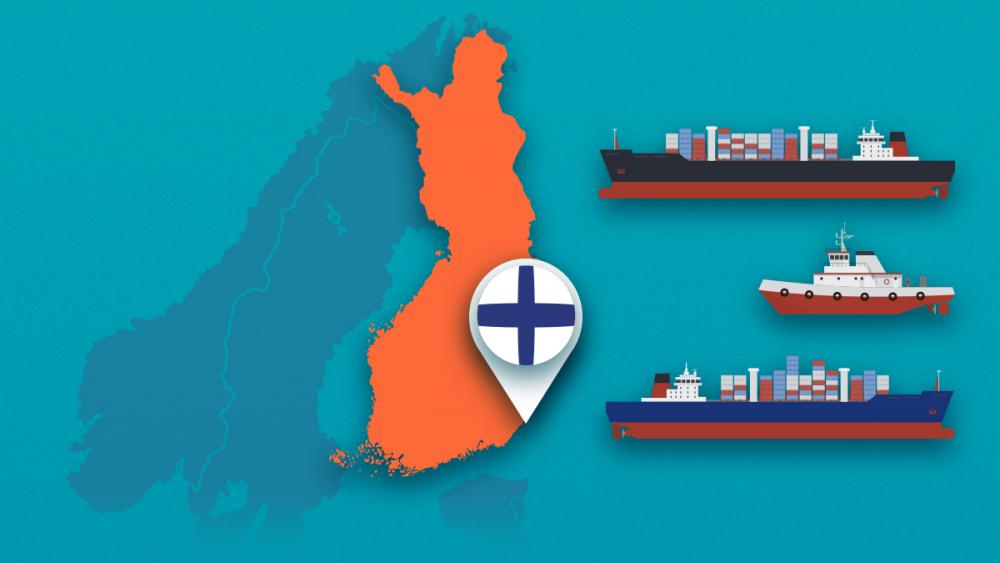 ship a car to Finland
