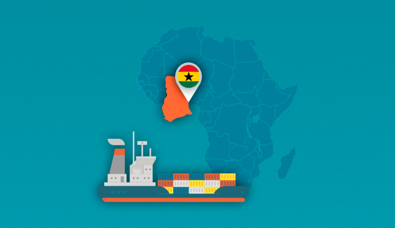 Shipping cars from the USA to Ghana