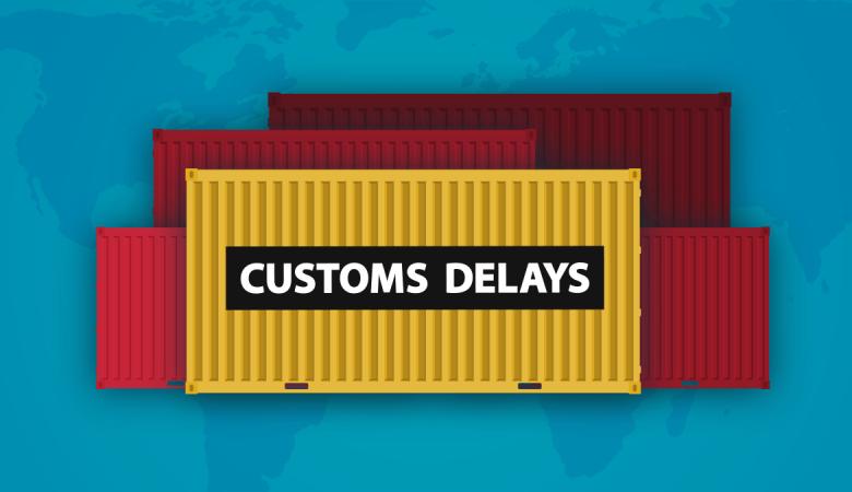 shipment held by customs