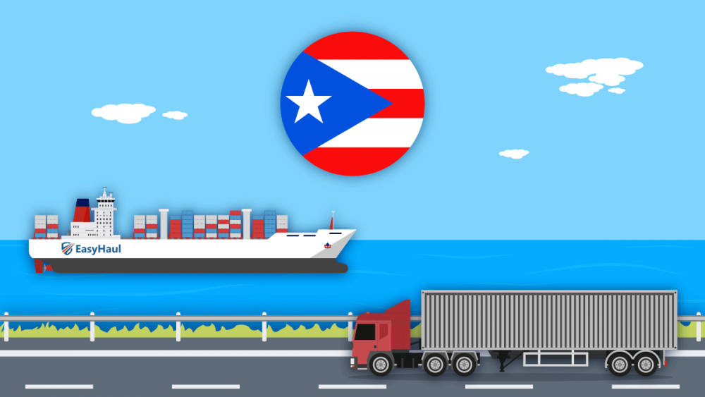 import car to Puerto Rico
