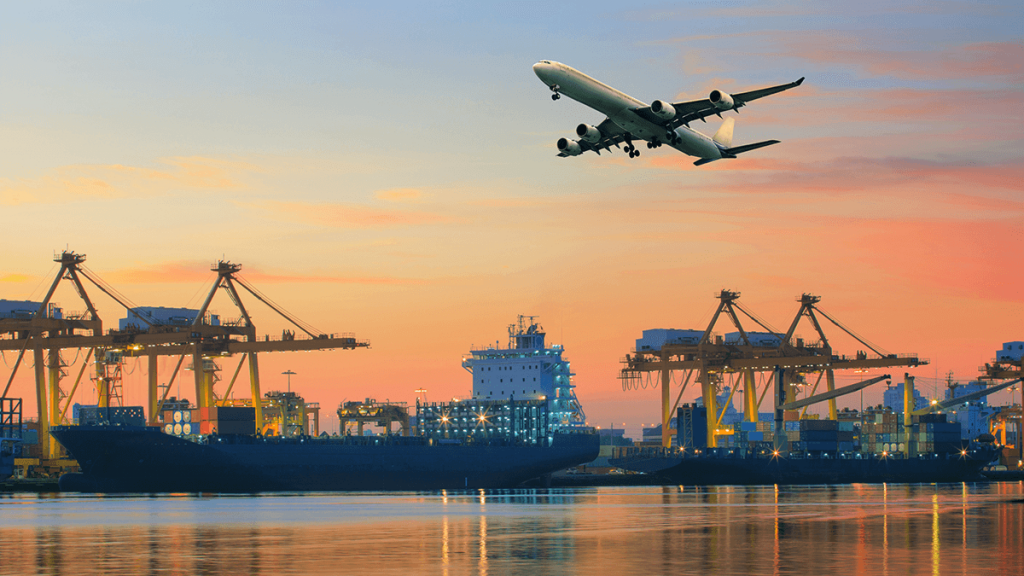 air and sea freight services